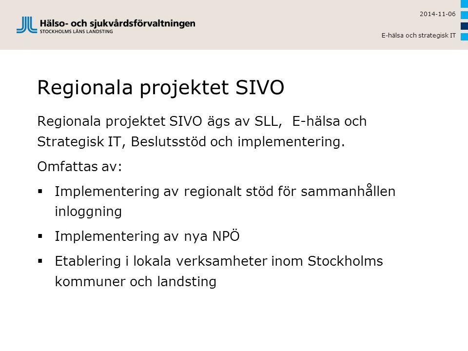Regionala projektet SIVO