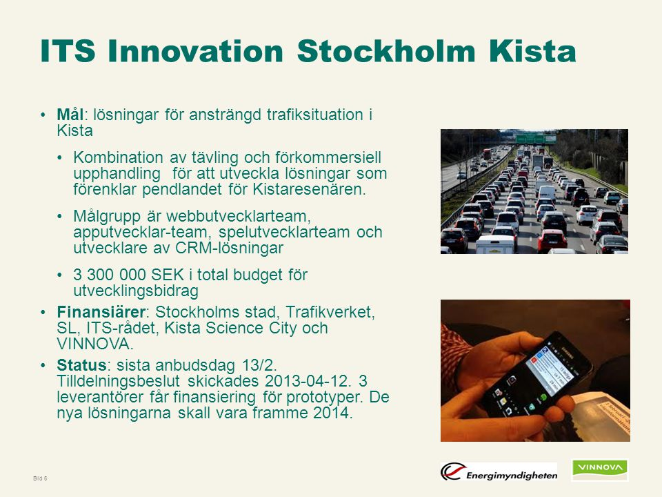 ITS Innovation Stockholm Kista