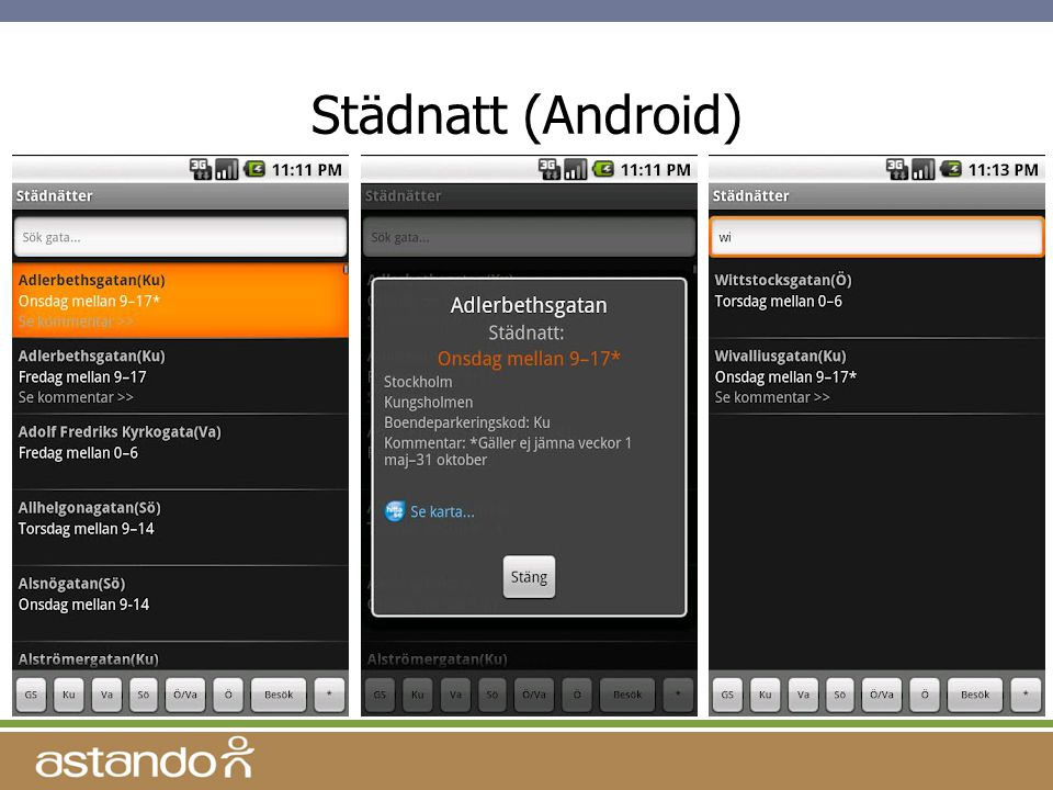 Städnatt (Android)