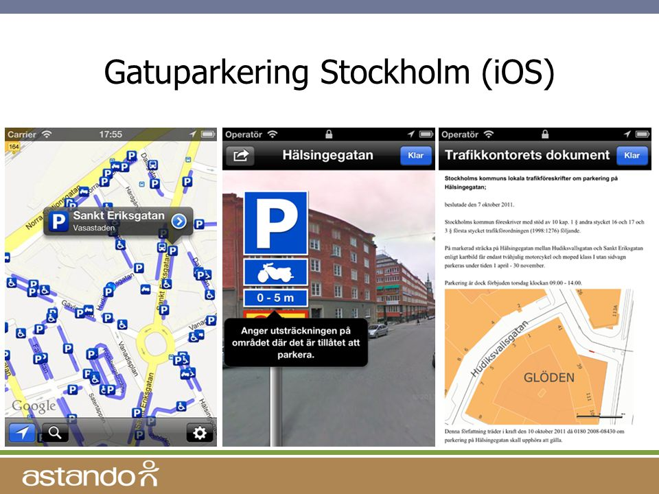 Gatuparkering Stockholm (iOS)
