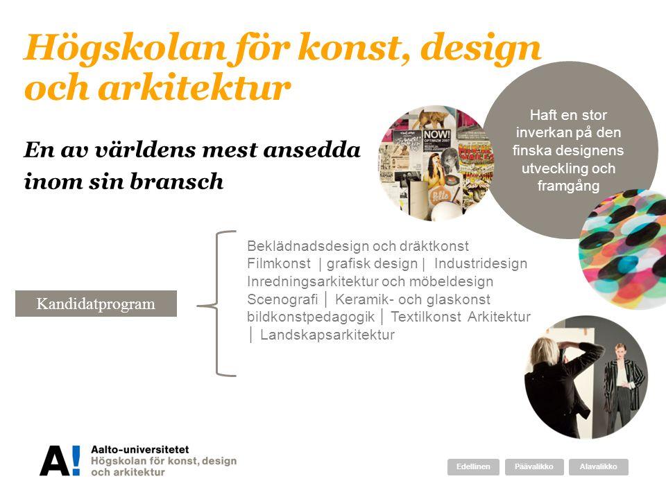 Högskolan för konst, design och arkitektur