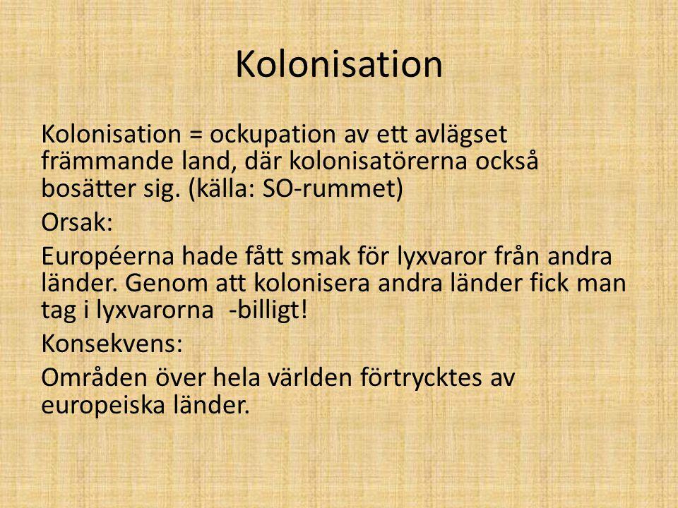 Kolonisation