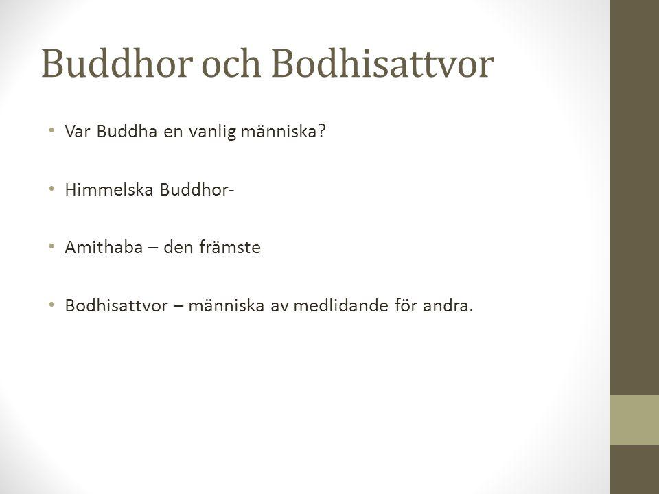 Buddhor och Bodhisattvor