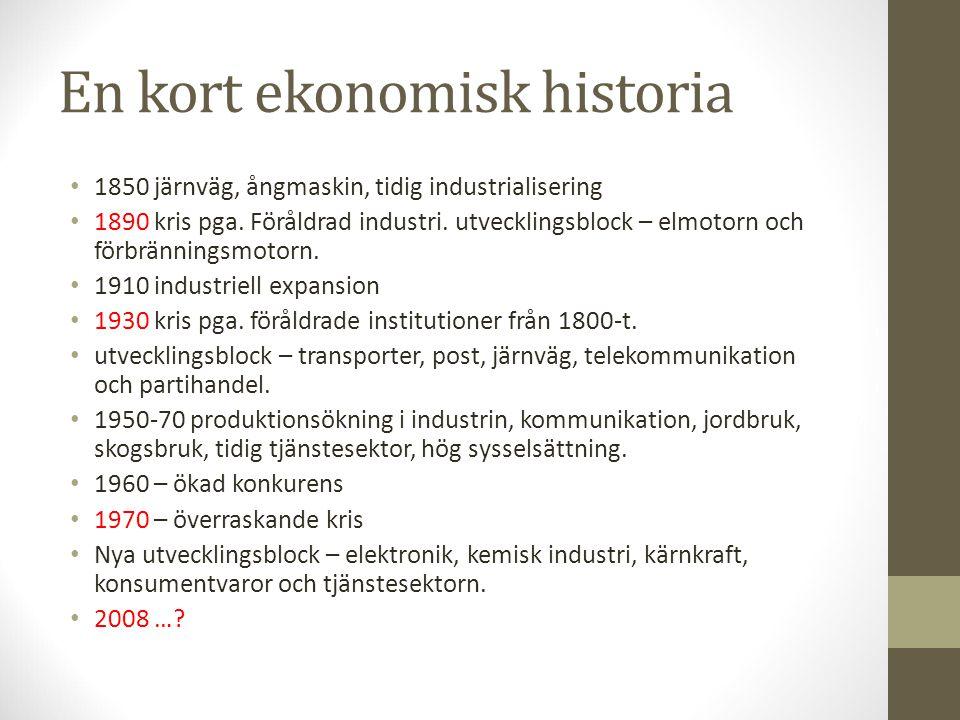 En kort ekonomisk historia
