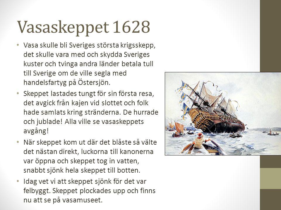 Vasaskeppet 1628
