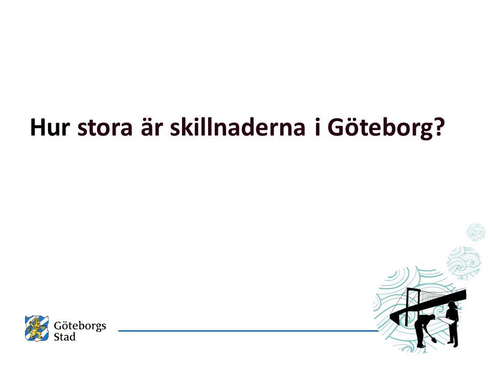 Hur stora är skillnaderna i Göteborg