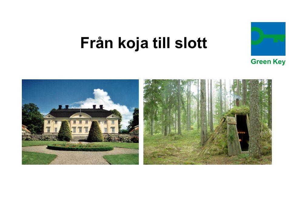 Från koja till slott