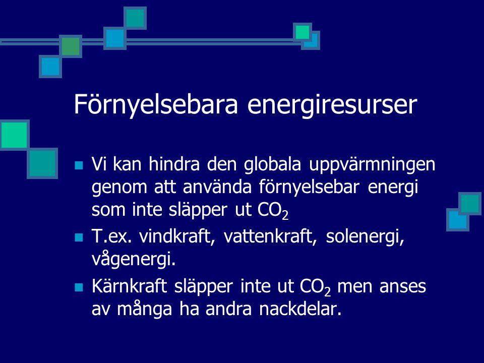 Förnyelsebara energiresurser