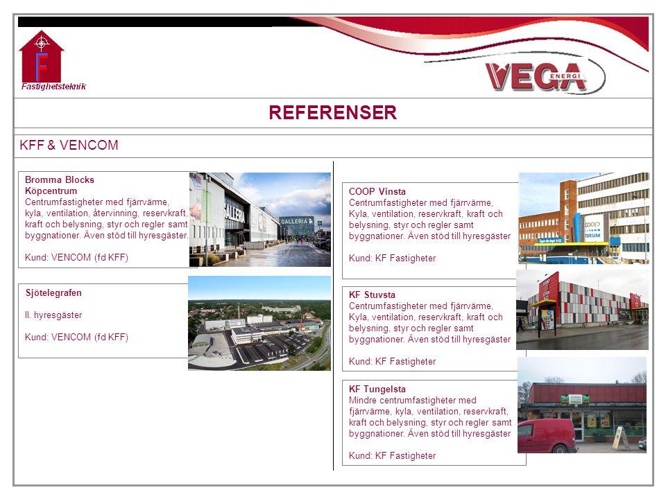 REFERENSER KFF & VENCOM Bromma Blocks Köpcentrum