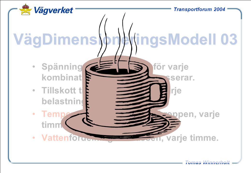 VägDimensioneringsModell 03