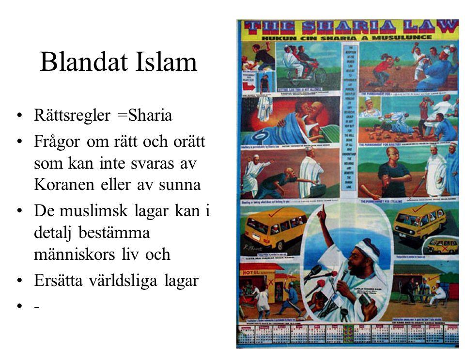 Blandat Islam Rättsregler =Sharia
