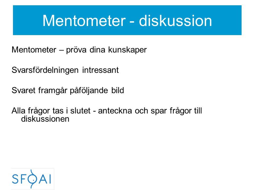 Mentometer - diskussion