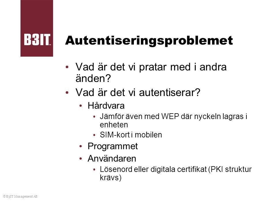 Autentiseringsproblemet