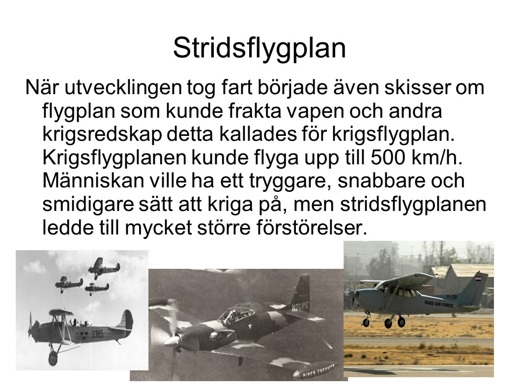 Stridsflygplan