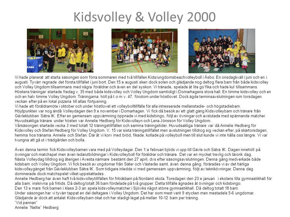 Kidsvolley & Volley 2000