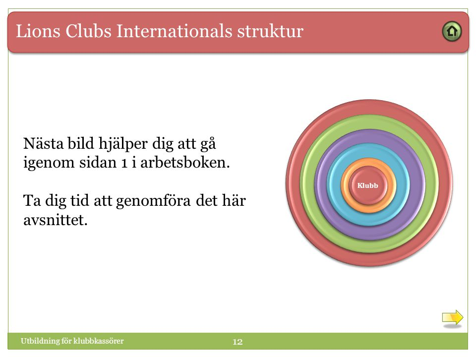 Lions Clubs Internationals struktur
