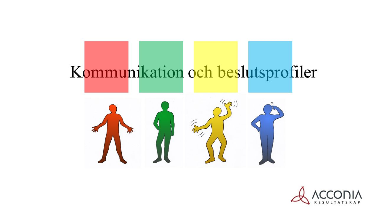 Kommunikation och beslutsprofiler