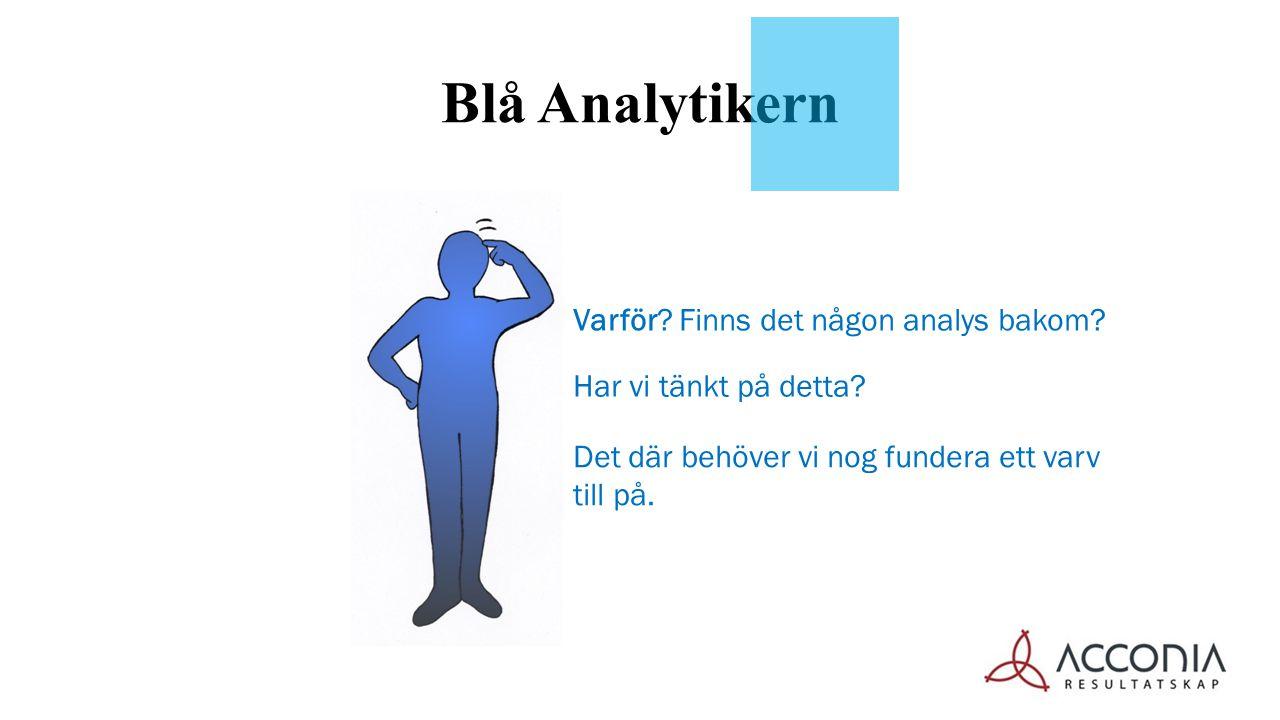 Blå Analytikern Varför Finns det någon analys bakom