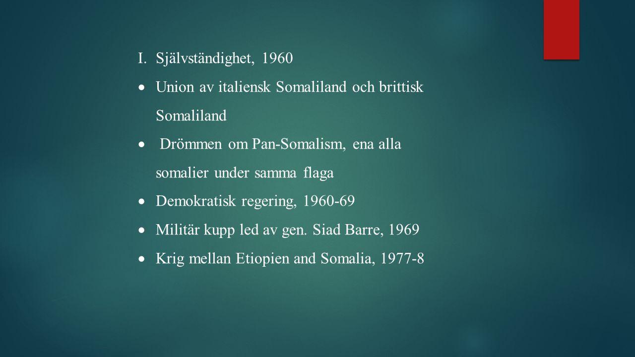 Union av italiensk Somaliland och brittisk Somaliland