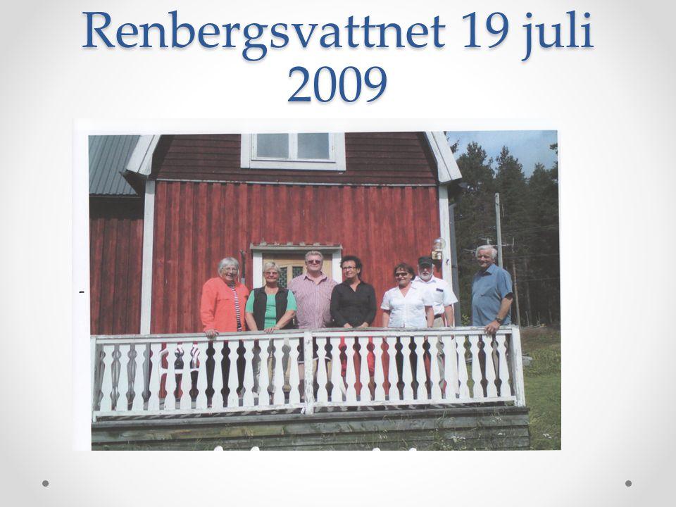 Renbergsvattnet 19 juli 2009