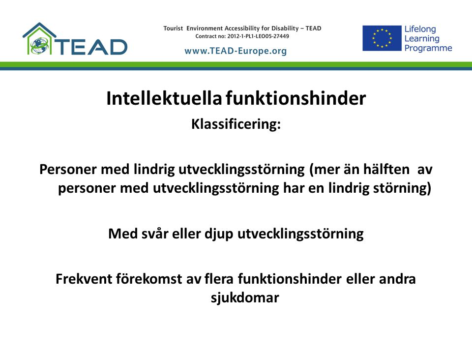 Intellektuella funktionshinder