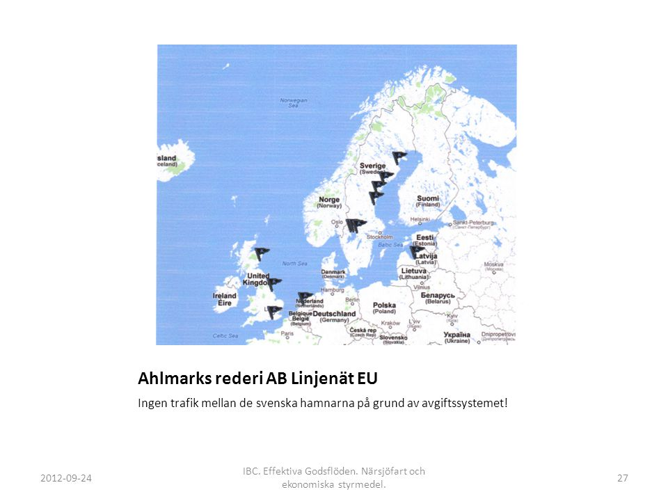 Ahlmarks rederi AB Linjenät EU