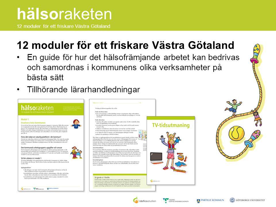 12 moduler för ett friskare Västra Götaland