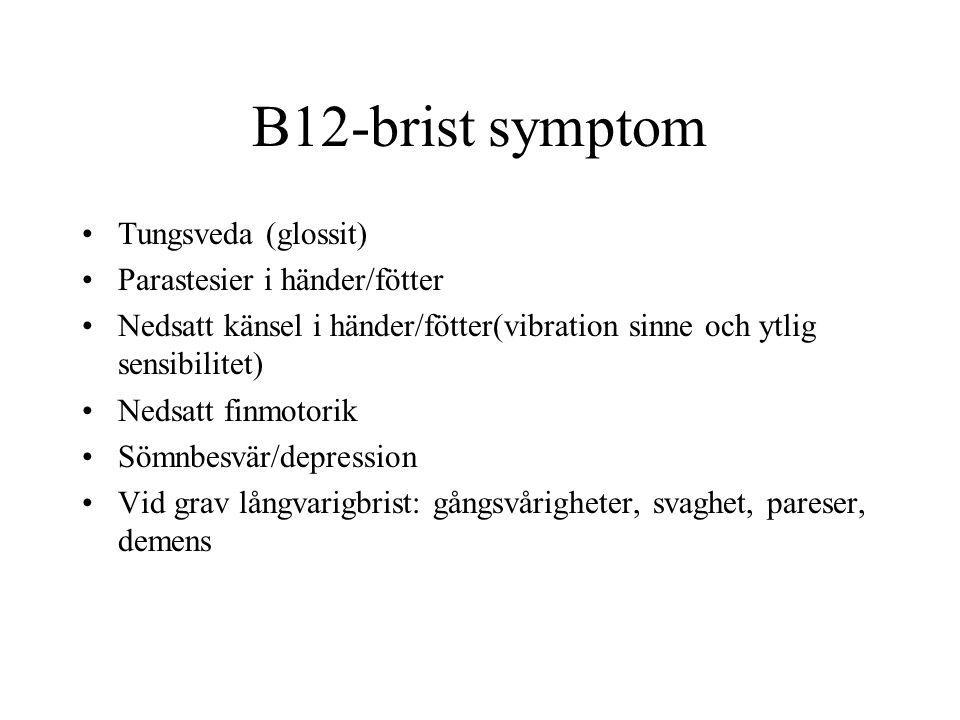 Varför b12 brist