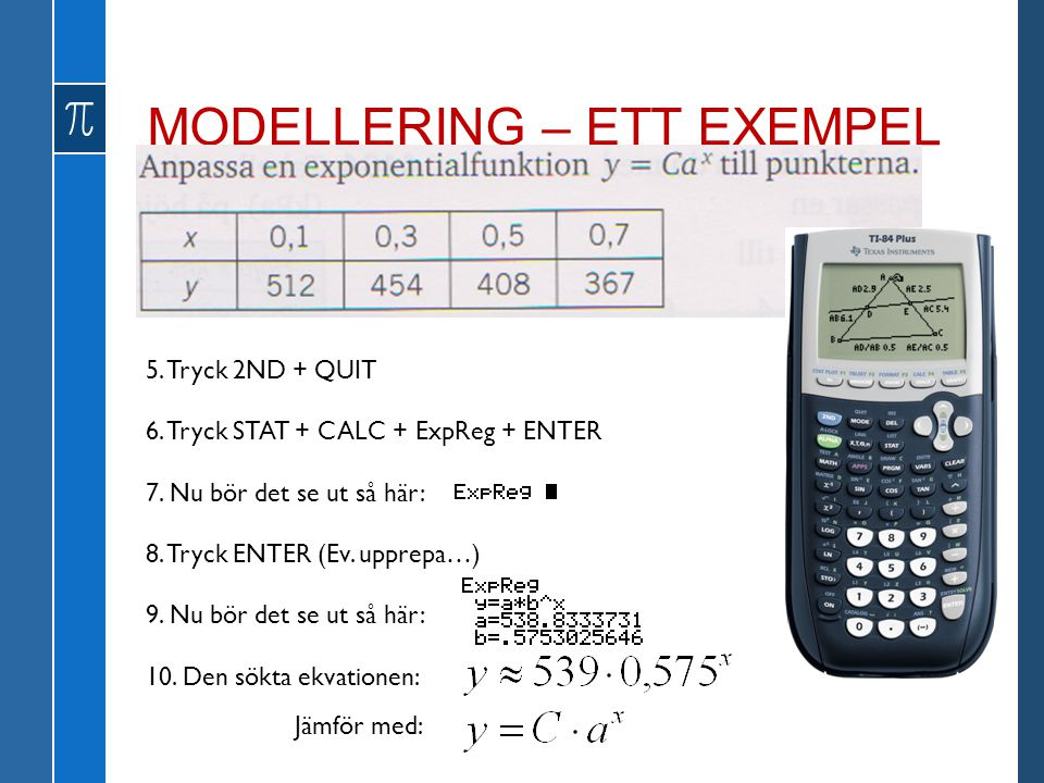 MODELLERING – ETT EXEMPEL