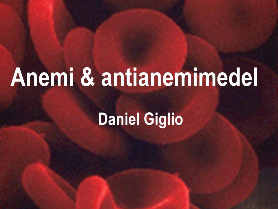Anemi & antianemimedel
