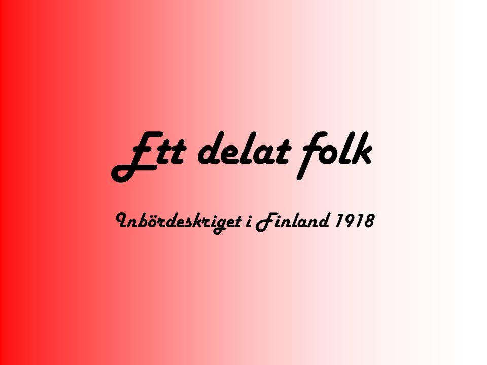 Inbördeskriget i Finland 1918