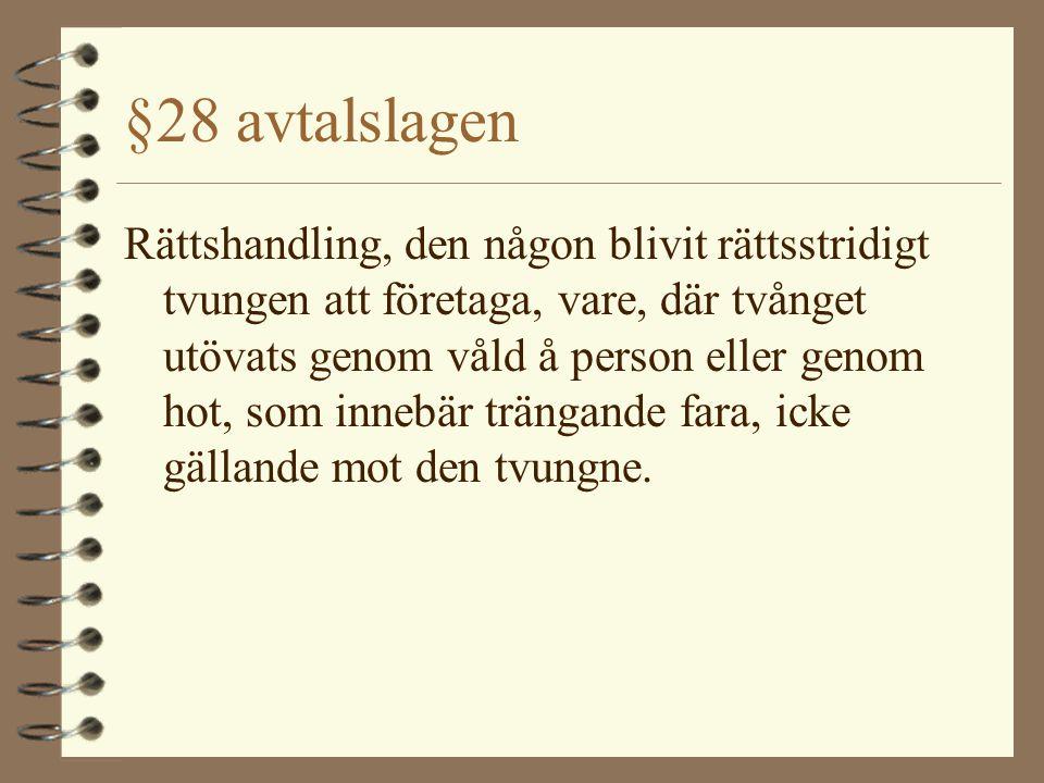 §28 avtalslagen