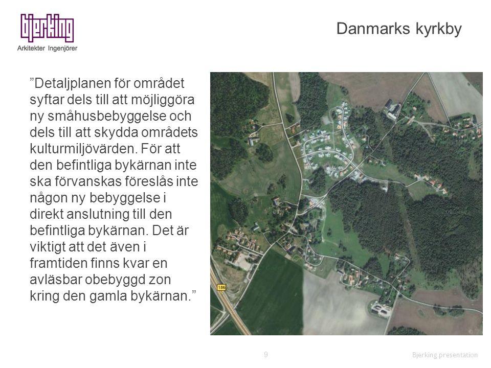 Danmarks kyrkby