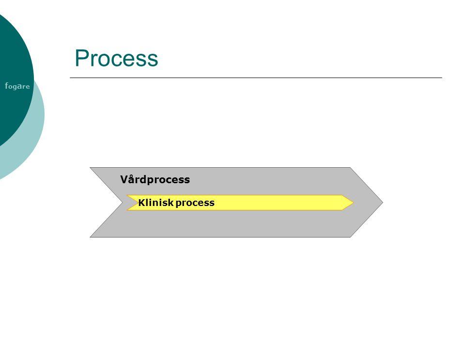 Process Vårdprocess Klinisk process