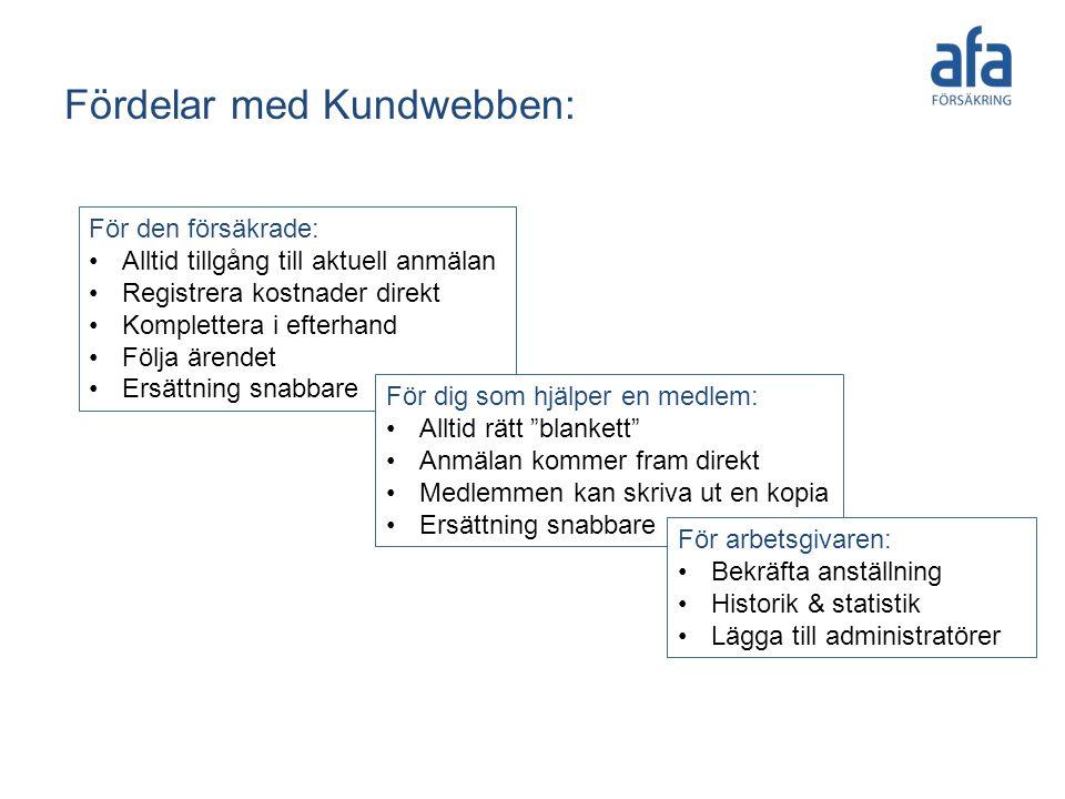 Fördelar med Kundwebben: