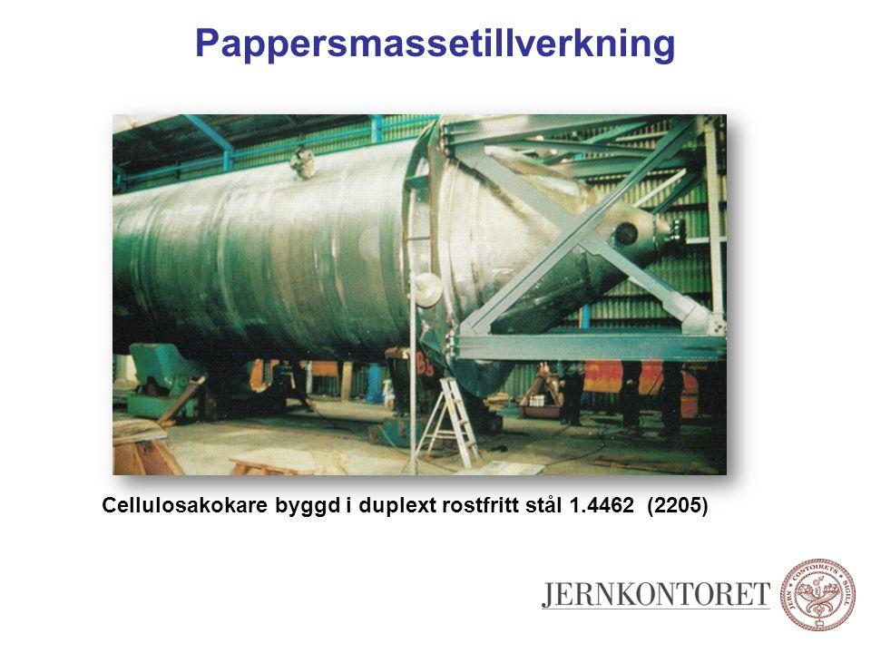 Pappersmassetillverkning