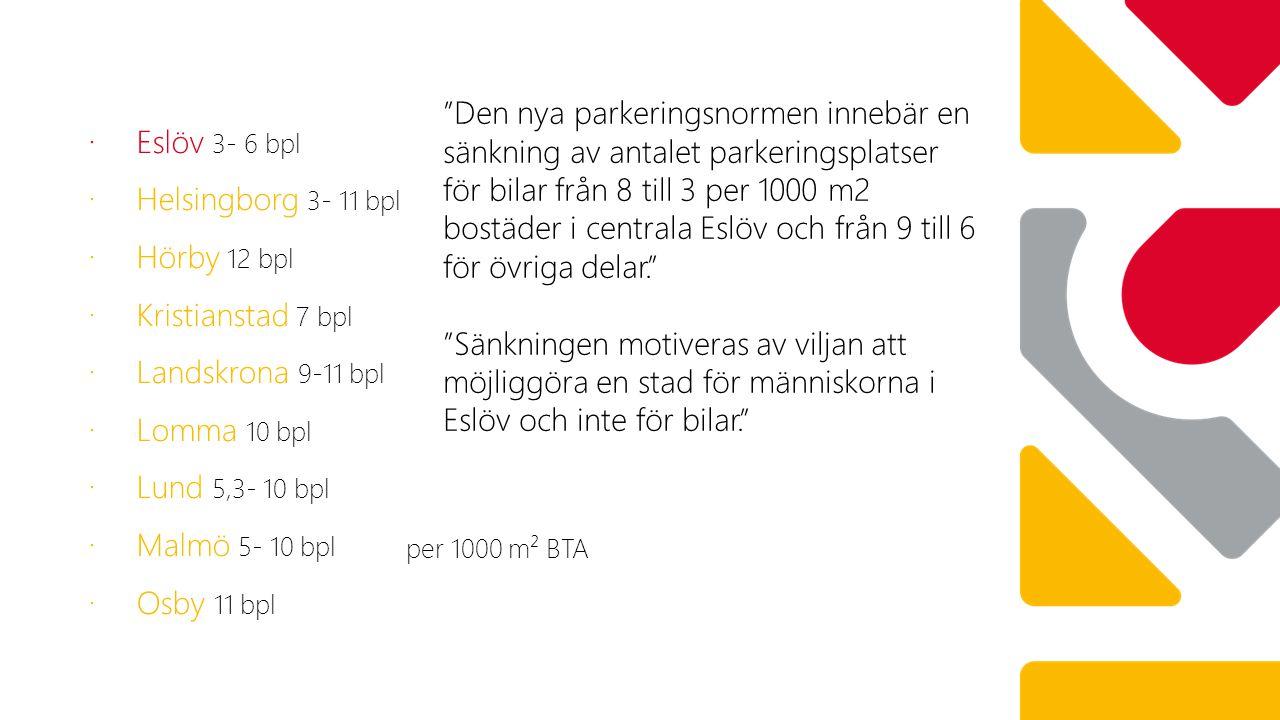 Eslöv 3- 6 bpl Helsingborg 3- 11 bpl. Hörby 12 bpl. Kristianstad 7 bpl. Landskrona 9-11 bpl. Lomma 10 bpl.