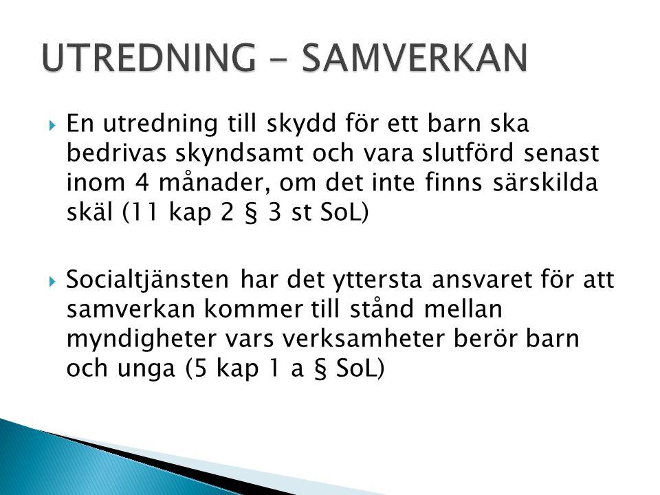 UTREDNING - SAMVERKAN