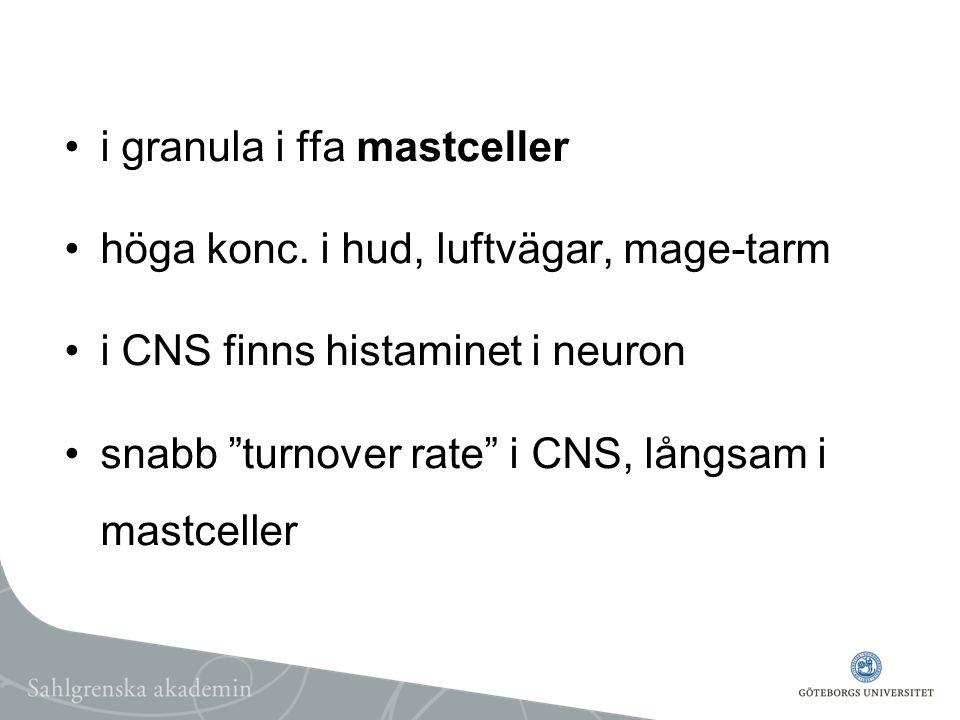 i granula i ffa mastceller