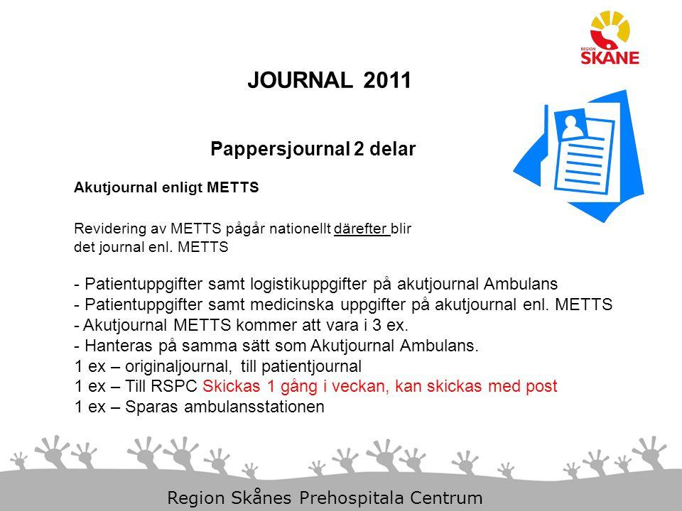 JOURNAL 2011 Pappersjournal 2 delar