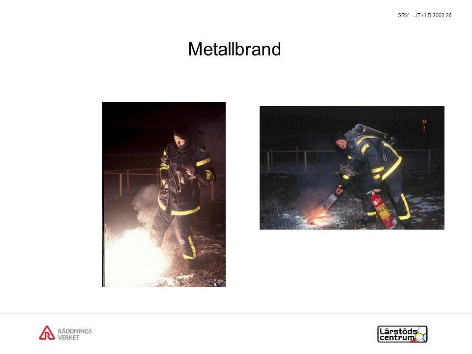 Metallbrand Bra diskussionspunkter