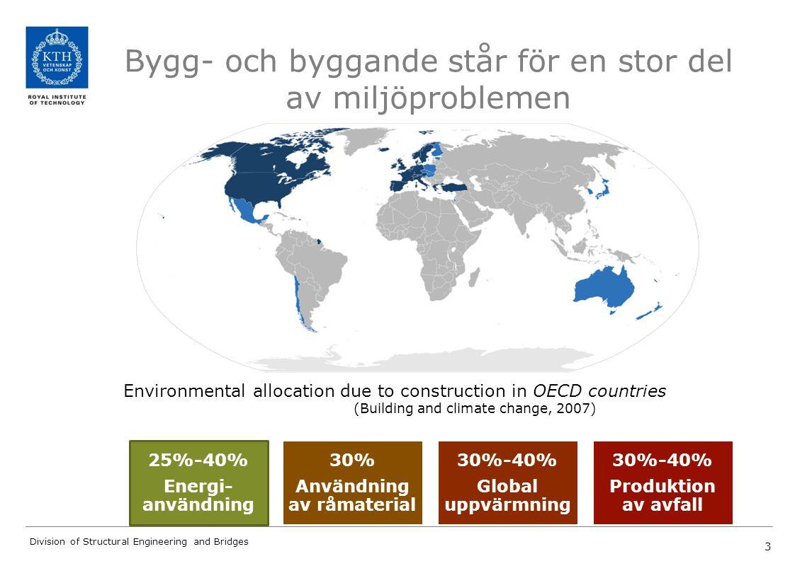Bygg- och byggande står för en stor del av miljöproblemen