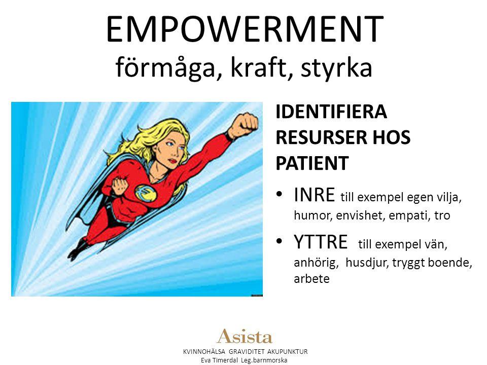 EMPOWERMENT förmåga, kraft, styrka