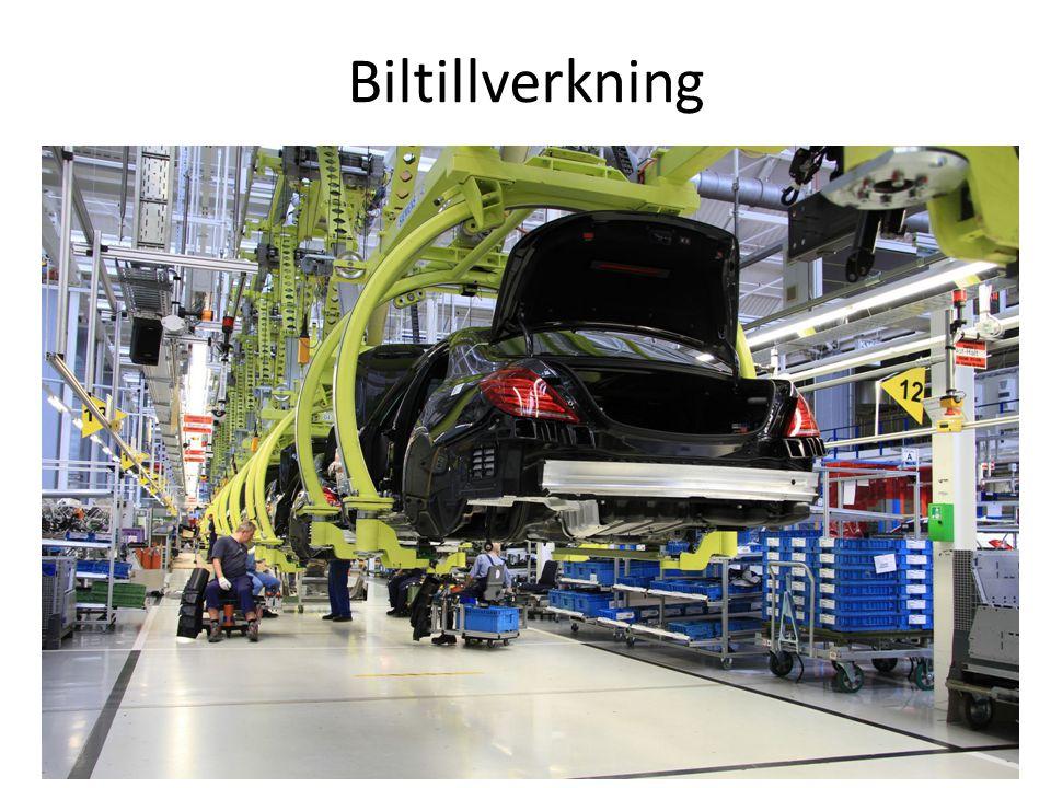 Biltillverkning
