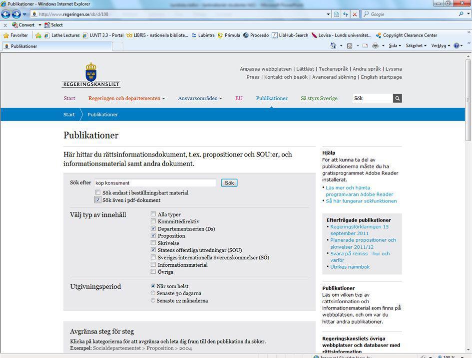 4/7/2017 Exempel på sökning Bocka för : Pdf DS Prop Sou