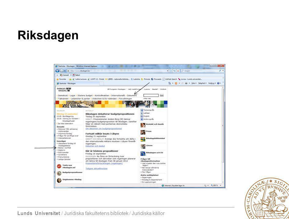 4/7/2017 Riksdagen Dokument Beslut i korthet