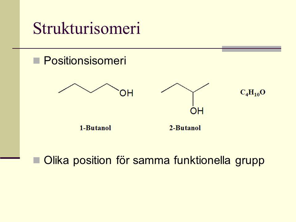 Strukturisomeri Positionsisomeri