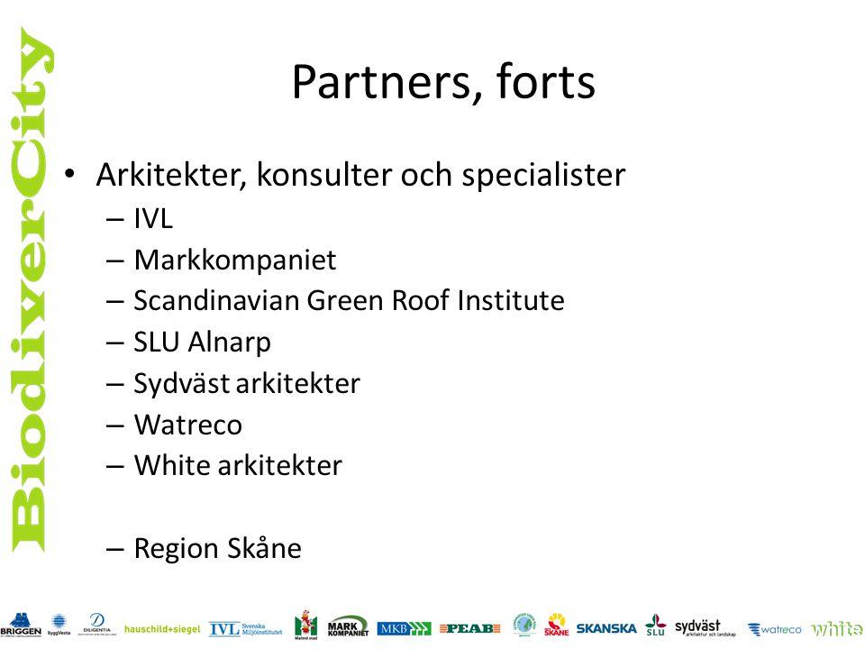 Partners, forts Arkitekter, konsulter och specialister IVL