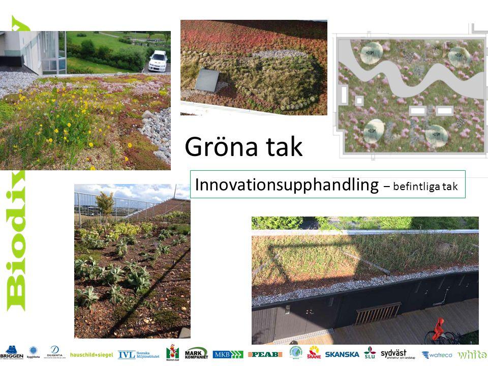 Gröna tak Innovationsupphandling – befintliga tak