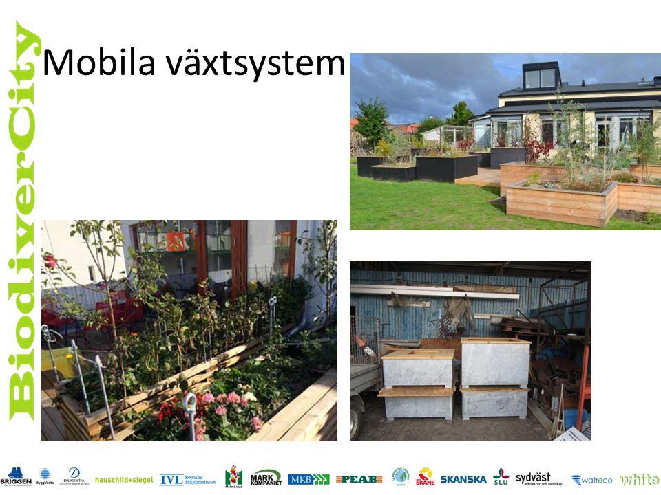 Mobila växtsystem